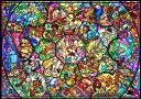 ディズニー オールキャラクター ジグソーパズル 500ピース ディズニーオールスター ステンドグラス D-500-457(D500-457)[テンヨー] t10...