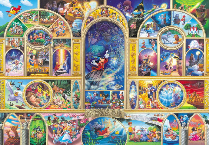 ディズニー オールキャラクター 1000ピース ...の商品画像