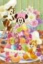 ディズニー ミッキーマウス 204ピース ジグソーパズル ディズニー パズルプチ デリシャス・マカロンツリー スモールピース(10x14.7cm)(98-578)[やのまん] t102