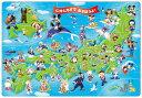 ディズニー 子供向けパズル 幼児 60ピース チャイルドパズル ミッキーと日本地図であそぼうよ!(DC-60-059)[テンヨー] t104