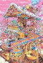 【在庫あり】ジグソーパズル 1000ピース ディズニー おかしなおかしの家 (51x73.5cm)(D-1000-421) テンヨー 梱80cm t100