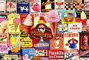 ジグソーパズル 1000ピース ヴィンテージアート アイスクリーム(49x72cm)(31-438) ビバリー 梱80cm t101