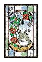 【あす楽】ジグソーパズル 126ピース ジブリ となりのトトロ 椿咲く日 フロストアートジグソー(10x14.7cm)(126-AC07) エンスカイ 梱60cm t100
