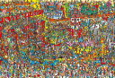 1000ピース ジグソーパズル Where's Wally? おもちゃがいっぱい(49x72cm)(31-447)[ビバリー] t106