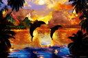 【あす楽】 1000ピース ジグソーパズル めざせ! パズルの達人 ラッセン セレスティアルハーモニー(RE) 光るパズル(50x75cm)(13-014)[エポック社] t104