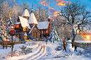 【あす楽】 1000ピース ジグソーパズル ドミニク・デイヴィソン メリーウインター(50x75cm) (1000-790)[アップルワン] t102の画像