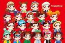 【あす楽】 1000ピース ジグソーパズル ペコテールペコちゃん勢ぞろい(50x75cm)(1000-059)[キューティーズ] t108