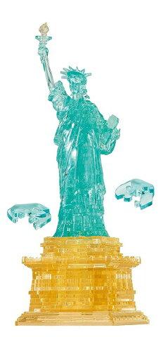 立体パズル 78ピース クリスタルパズル 自由の女神 (78ピース)(50214)[ビバリー] 【梱60cm】t105