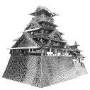 【あす楽】【お買い物マラソン】ジグソーパズル メタリックナノパズル プレミアムシリーズ 大阪城(T-MP-007) テンヨー 梱60cm t103