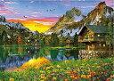 【在庫あり】ジグソーパズル 500ピース ドミニク デイヴィソン アルペンレイクの休日(38x53cm) (500-247) アップルワン 梱60cm t100