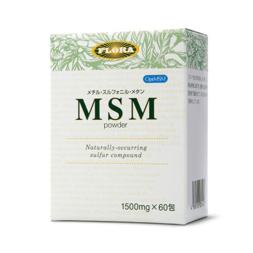 MSMパウダー(フローラ) 1500mg×60包 [ フローラハウス / オプティmsm / メチル・スルフォニル・メタン / メチルスルフォニルメタン / ジメチルスルホン / サプリ ]