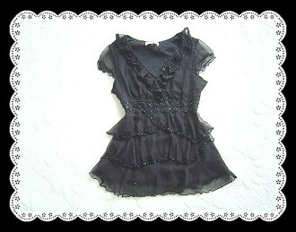 Two days only! Elaborate a very beautiful everything SILK 100% birth embroidered flower lace silk top
