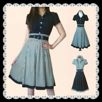 Popular ★ silhouette clean switch check pattern comfortable stretch piece