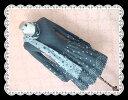 【ラスト1点】 ★2点セット★ リバーシープルストールつきバルーン袖ふんわり水玉プリントニットウールワンピース
