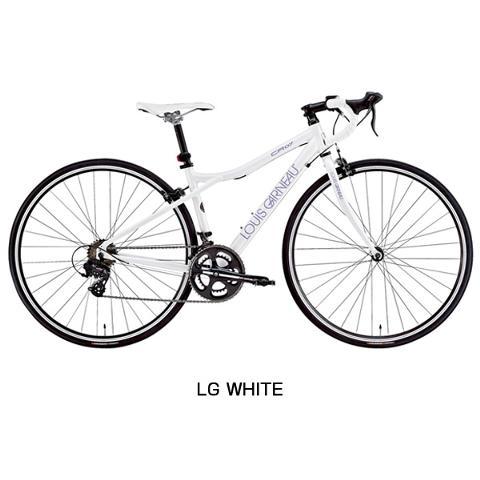 【在庫処分30%OFF&鍵プレゼント】【補助ブレーキ付き】LOUIS GARNEAU(ルイガノ) 2016年モデル LGS-CR07[ロードバイク・ロードレーサー][アルミフレーム] 【メーカー処分】【在庫処分】【自転車安全整備士による完全組立・点検整備の完成車】《S》
