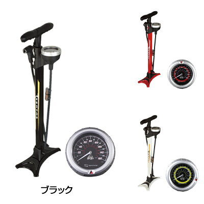 SERFAS(サーファス)FP-200SE11気圧まで楽々入る、高性能フロアポンプ(自転車用空気入れ)ロードバイク対応