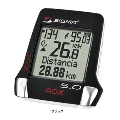 【あす楽】【ヨーロッパNo1ブランド】SIGMA(シグマ)ROX5.0本格トレーニングに必要な情報を記録できるサイクルコンピューター