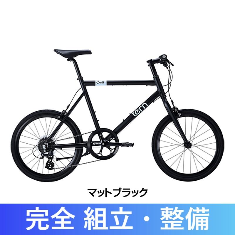 《在庫あり》TERN(ターン) 2017年モデル CREST[コンフォート][ミニベロ/小径車] 【自転車安全整備士による完全組立・点検整備の完成車】