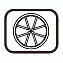 SHIMANO(シマノ) スモールパーツ・補修部品 ハブ軸(M9×108mm)クイックレリーズ式用 Y21C03100[CS(普及グレード)][シマノスモールパーツ]