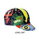 Cinelli(チネリ) JUNGLE ZEN CAP[キャップ・バンダナ・スカルキャップ][ウェアアクセサリ]