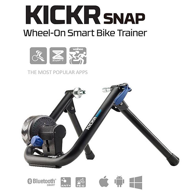 《即納》wahoo(ワフー) KICKR SNAP SMART TURBO (キッカースナップスマートトレーナー)[タイヤドライブ式][固定式ローラー台] 【送料無料】《P》おかやま(おかやま)