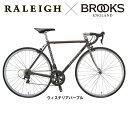 【ライト・カギプレゼント】【BROOKSサドル バーテープ 限定カスタマイズ】Raleigh(ラレー) CARLTON-N (カールトンN)CRN