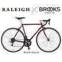 【ライト・カギプレゼント】【BROOKSサドル限定カスタマイズ】Raleigh(ラレー)CARLTON-A (カールトンA)CRA