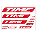 TIME(タイム ) TIME LOGO STICKER (...