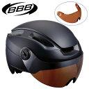 BBB(ビービービー) BHE-56F INDRA FACESHELD インドラフェイスシールド E-BIKE向けヘルメット 自転車ヘルメット 一般 バイザー無し