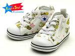 CONVERSE BABY ALL STAR N KIKI & LALA Z 7CJ709WHITEコンバース ベイビー オールスター N キキ & ララ Zホワイト