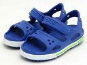 ショッピングcrocs crocs crocband 2.0 sandal PS 14854-40Kクロックバンド 2.0 サンダル PS【シーブルー/ホワイト】