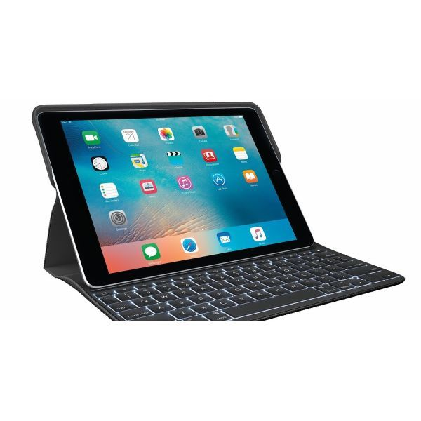 「国内正規品」Logicool ロジクール CREATE iPad Pro 9.7インチ キーボードケース Smart Connector (スマートコネクター) 搭載 バックライト付き Ik1082[レターパック送料無料]