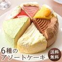 バースデー ケーキ 誕生日ケーキ お祝い 結婚記念日 結婚祝い お礼 お返し 卒業 入学 贈り物 ウエディング ショートケーキ 詰合せ ちょうどいいサイズ♪6種バラエティアソートケーキ 5号 15.0cm バースデー ケーキ 誕生日 ケーキセット・詰合せ 洋菓子 送料無料 誕生 日 アイス birthday cake 冷凍