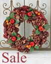 【SALE】クリスマスリース自然素材のクリスマス・リースが4種類!!どのクリスマスリースも可愛いです♪