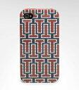 Tory Burch トリーバーチ iphone4,4Sケース プリントハードシェル レッドマルチ 【新品新作】【メール便送料無料】printed Hardshell Phone Case Color:RED MULTI Style:11129280