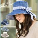 【商品名:紐付きストライプHAT】 帽子 レディース ハット...