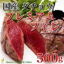【国産ダチョウ】プレミアムフィレ肉 500g