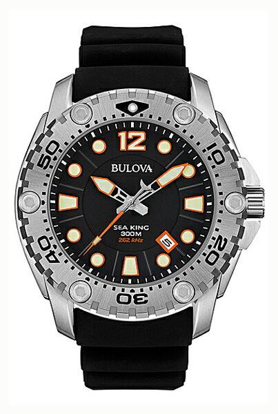 【送料無料】国内正規品 BULOVA[ブローバ]SEA KING 〔シーキング〕UHF クォーツ搭載 メンズ腕時計 96B228【RCP】【02P05Sep15】 【期間限定 ポイント10倍】