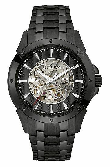 【送料無料】国内正規品  BULOVA[ブローバ] Automatic  98A147 メンズ腕時計  【RCP】【02P05Sep15】 【期間限定 ポイント10倍】
