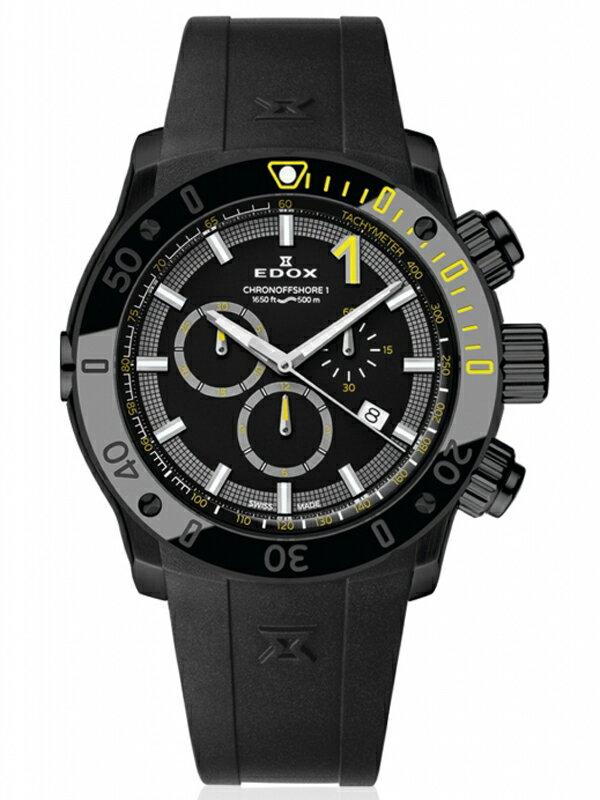【送料無料】EDOX エドックス クロノオフショア1 CHRONOGRAPH メンズ腕時計 10221-37N-NINJ 正規品【新品】【RCP】【02P03Dec16 】 【期間限定 ポイント10倍】
