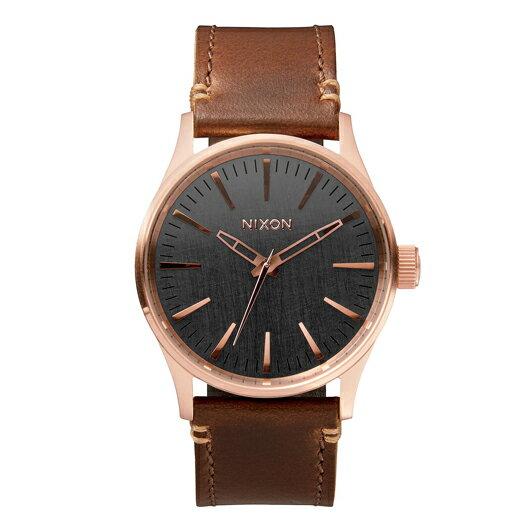 【送料無料】国内正規品 NIXON ニクソン THE SENTRY 38 LEATHER メンズ腕時計 NA3772001-00【新品】【RCP】【02P12Oct14】 ポイント10倍★2年保証