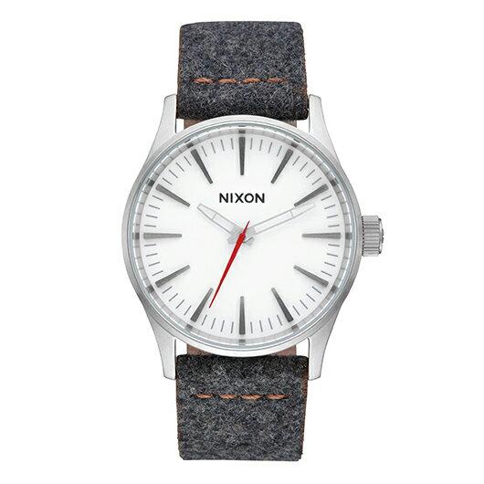 【送料無料】国内正規品 NIXON ニクソン THE SENTRY 38 LEATHER メンズ腕時計 NA3772476-00【新品】【RCP】【02P12Oct14】 ポイント10倍★2年保証