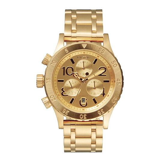 【送料無料】国内正規品 NIXON ニクソン THE 38-20 CHRONO レディース腕時計 NA404501-00【新品】【RCP】【02P12Oct14】 ポイント10倍★2年保証