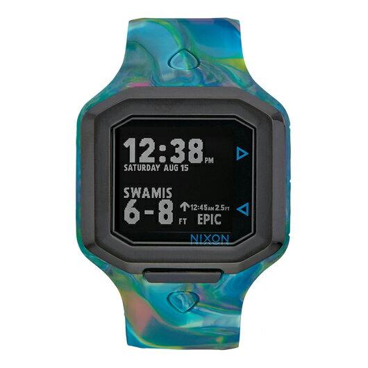 【送料無料】 国内正規品 NIXON ニクソン THE ULTRATIDE メンズ腕時計 NA4761610-00【新品】【RCP】【02P12Oct14】 ポイント10倍★2年保証