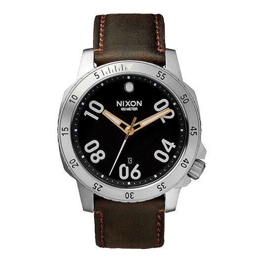【送料無料】国内正規品 NIXON ニクソン THE RANGER LEATHER メンズ腕時計 NA508019-00【新品】【RCP】【02P12Oct14】 ポイント10倍★2年保証レディース 腕時計(レディース 腕時計)