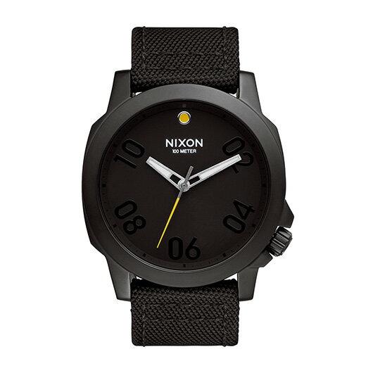 【送料無料】国内正規品 NIXON ニクソン THE RANGER 45 NYLON メンズ腕時計 NA514001-00【新品】【RCP】【02P12Oct14】 ポイント10倍★2年保証