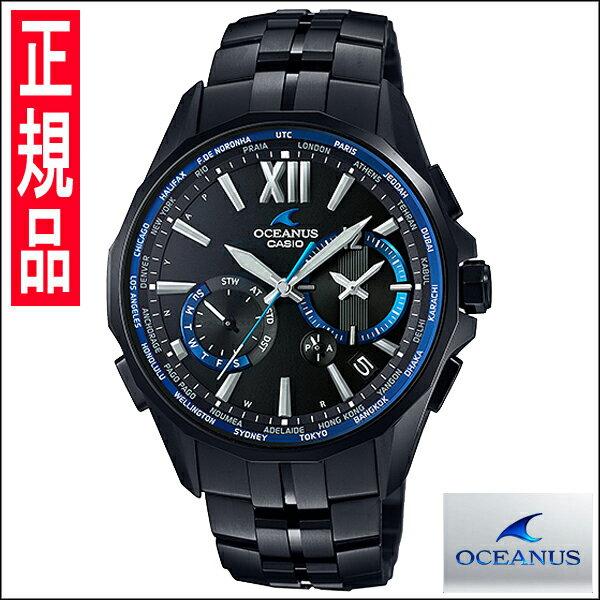 国内正規品【送料無料】カシオ OCEANUS(オシアナス)メンズ腕時計 OCW-S3400B-1AJF【新品】【RCP】【02P01May16】 やまがた