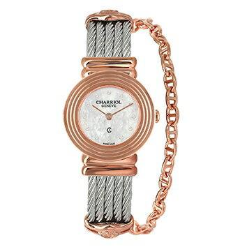 【送料無料】 国内正規品 CHARRIOL シャリオール ST-TROPEZ Art Deco レディース腕時計 028LP.540.326【新品】【RCP】【02P12Oct14】 ポイント10倍