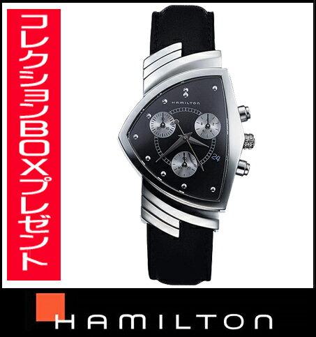 HAMILTON Hamilton American classic ベンチュラクロノ men's watch H24412732 fs3gm