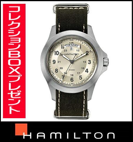 国内正規品【送料無料】HAMILTON ハミルトンカーキキング h64451823 メンズ腕時計  【新品】【RCP】【P08Apr16】 【期間限定 ポイント10倍】